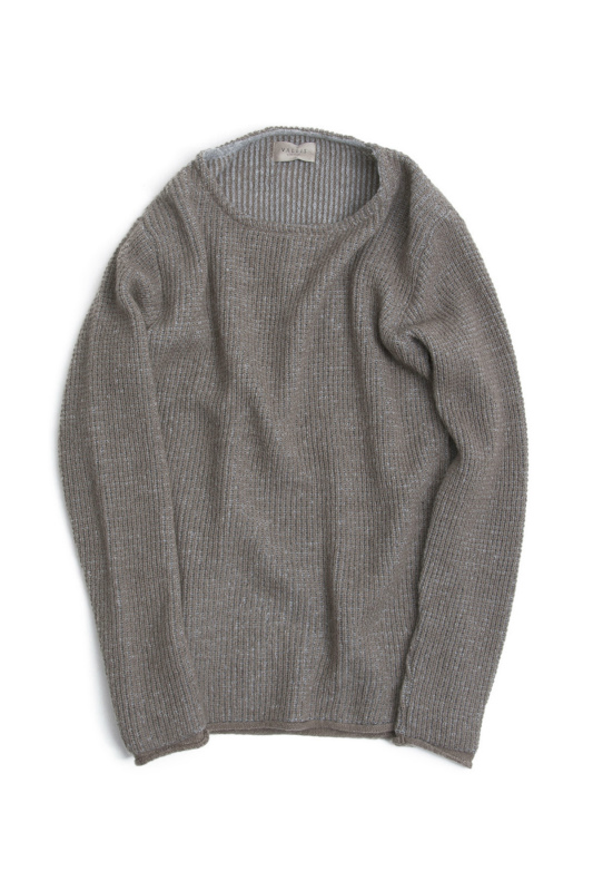 MOHAIR KNIT CREW NECK