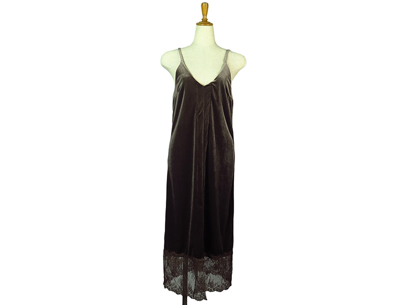 Velour Cami Tunic