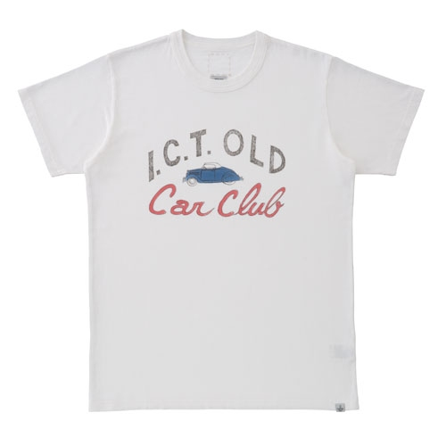 SKETCH VTG CREW S/S (CAR CLUB)