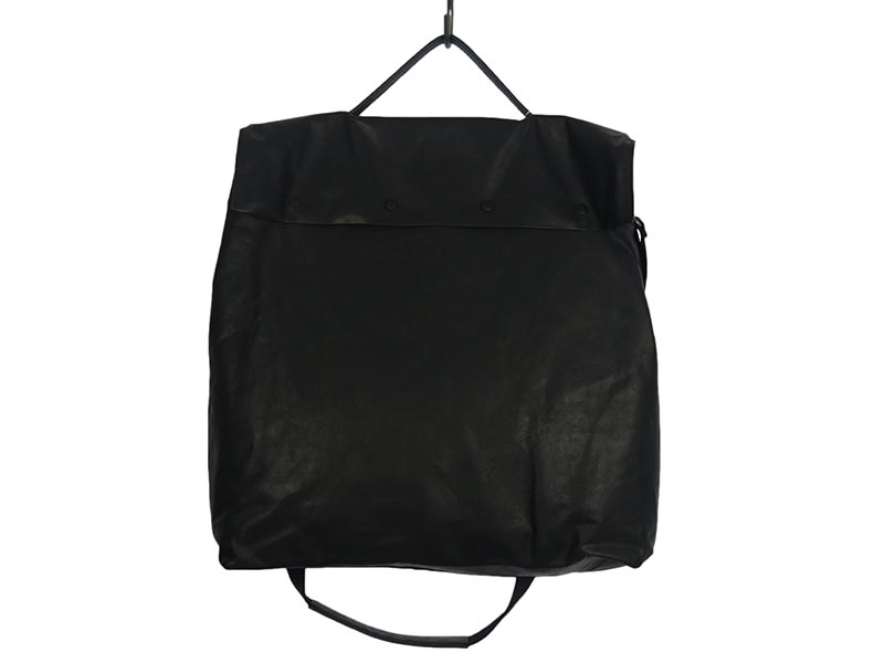 2WAY LEATHER SHOULDER BAG