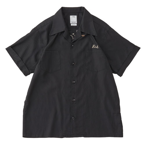IRVING SHIRT S/S (RAYON/COTTON)