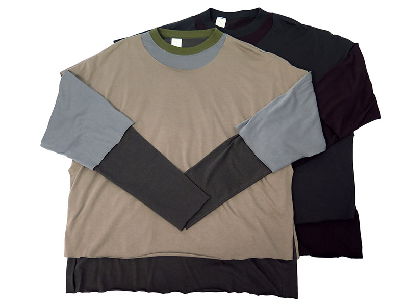 LAYERED TEE(172-CS04-063PIECES)