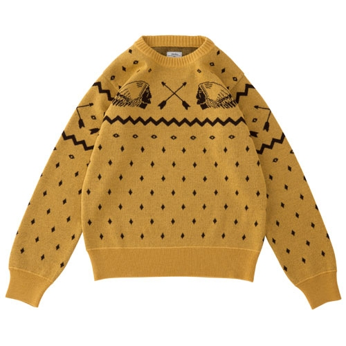 VNTG NATIVE JACQUARD KNIT