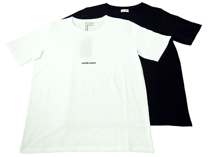 「SAINT LAURENT UNIVERSIT?」半袖Tシャツ