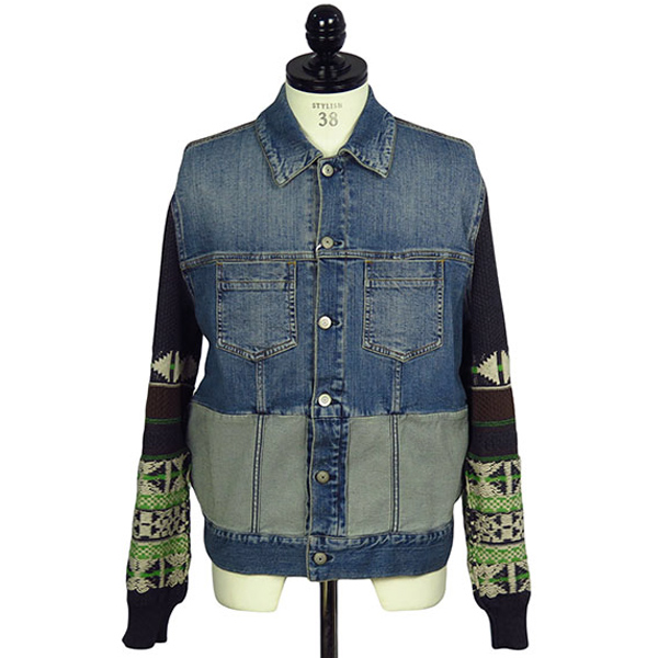COMBI DENIM JACKET