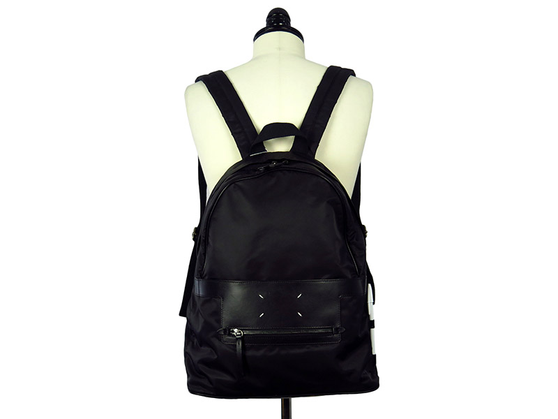 LEATHER COMBI BACKPACK