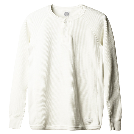 SD Waffle Thermal Long Sleeve Henley
