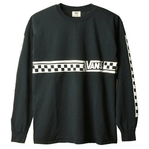 VANS × SD CHECKER LOGO LS