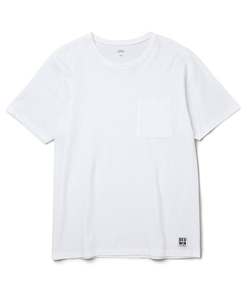 "S/S C-NECK POCKET T ""JACK"""