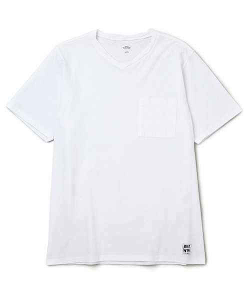 "S/S V-NECK POCKET T ""ZIENTARA"""