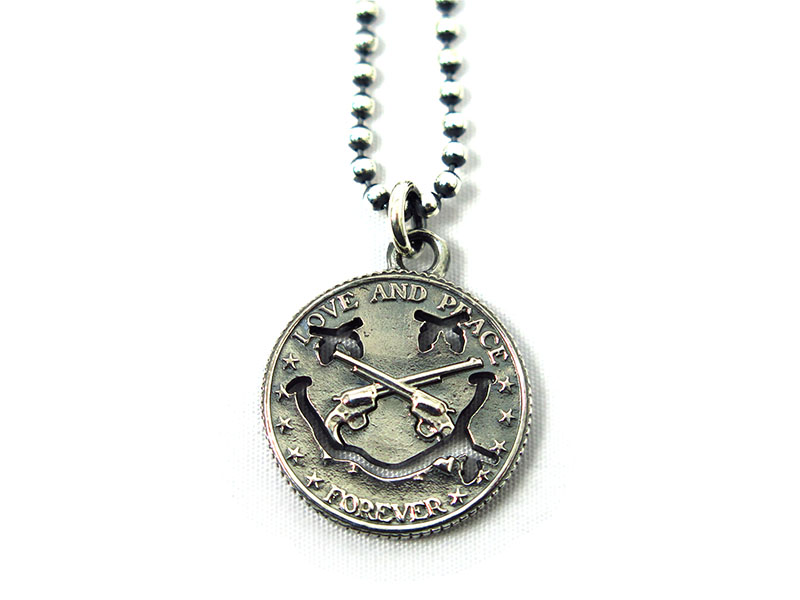 SMILE COIN NECKLACE(17SRQ-36)