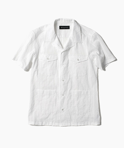 DOBBY WASHER SHORT SLEEVE SHIRTS