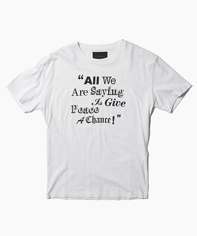 """ALL WE ARE SAYING"" TEE"