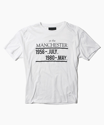 """AT THE MANCHESTER"" TEE"