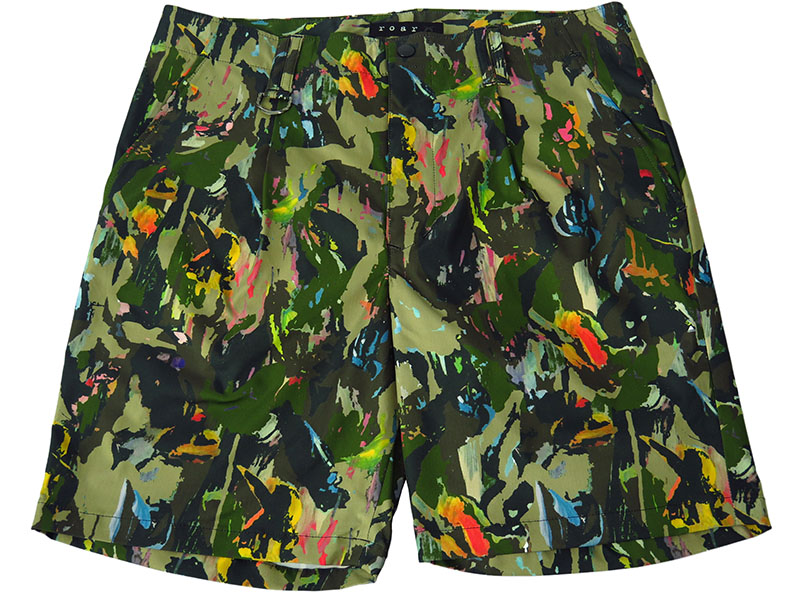 CAMOUFLAGE STRETCH SHORTS(GRAPHIC BY DISKAH)(18SRP-13)