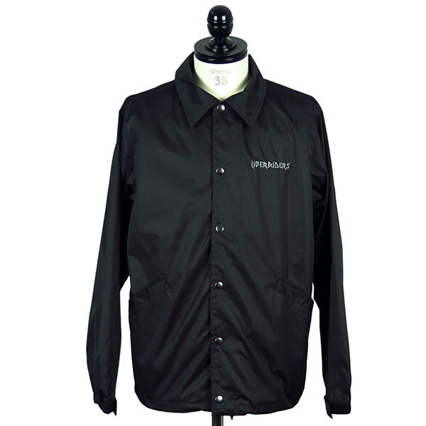 LIBERAIDERS METAL LOGO COACH JACKET