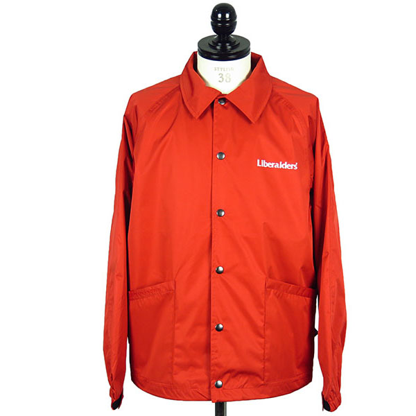 LIBERAIDERS OG LOGO COACH JACKET