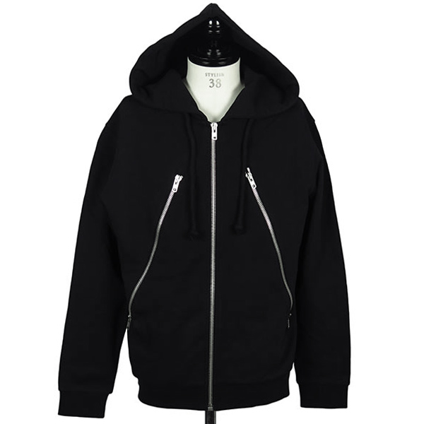 5ZIP SWEAT PARKA