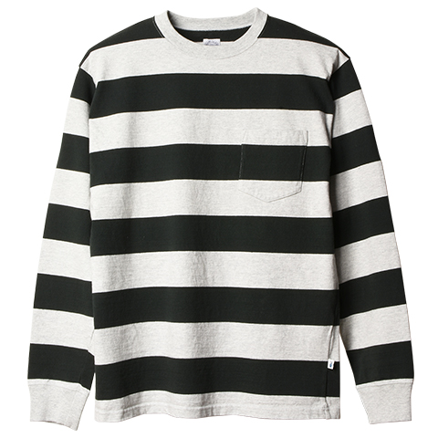 SD Heavyweight Border Long Sleeve T