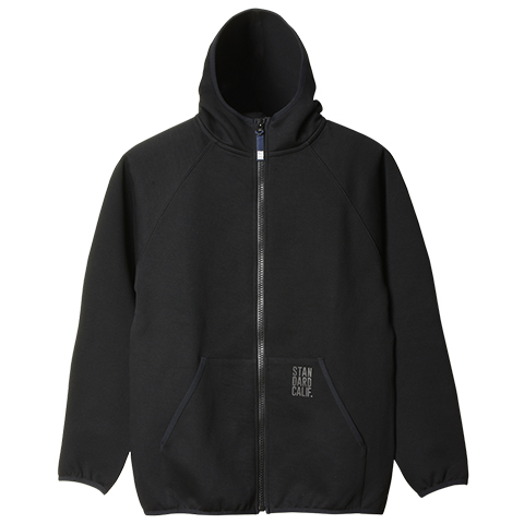 SD Three Layer Tech Sweat Zip Hood