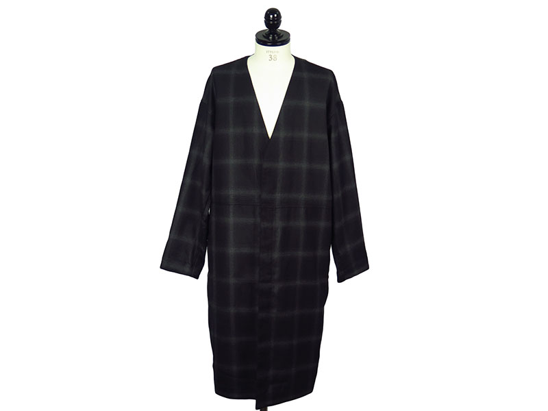 CHECK COAT-BK CHECK-(272-CO06-025PEG)