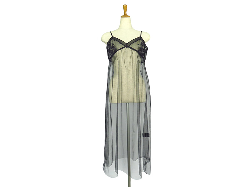TULLE LAYERD CAMISOLE DRESS