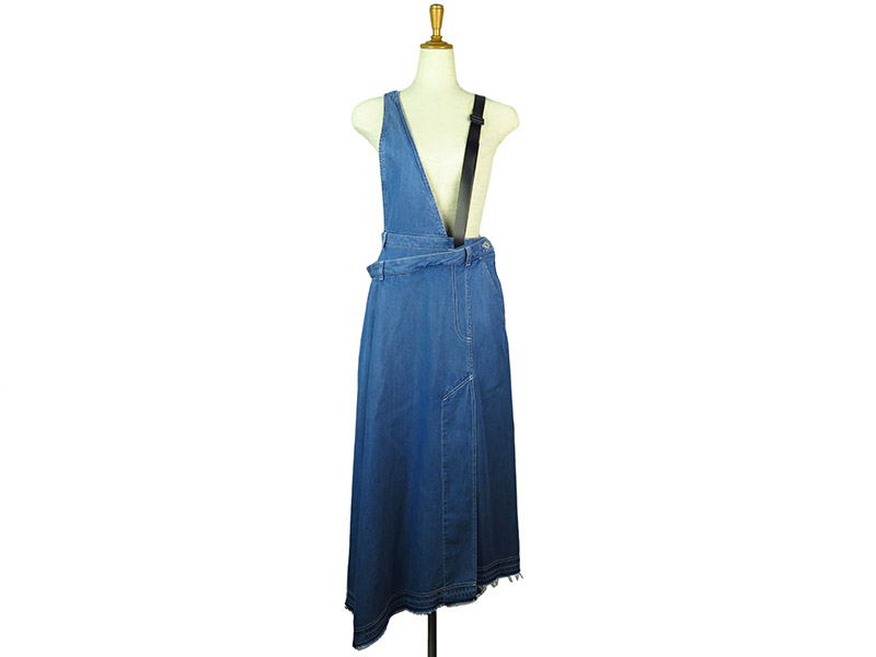 TENCEL REMAKE DENIM DRESS