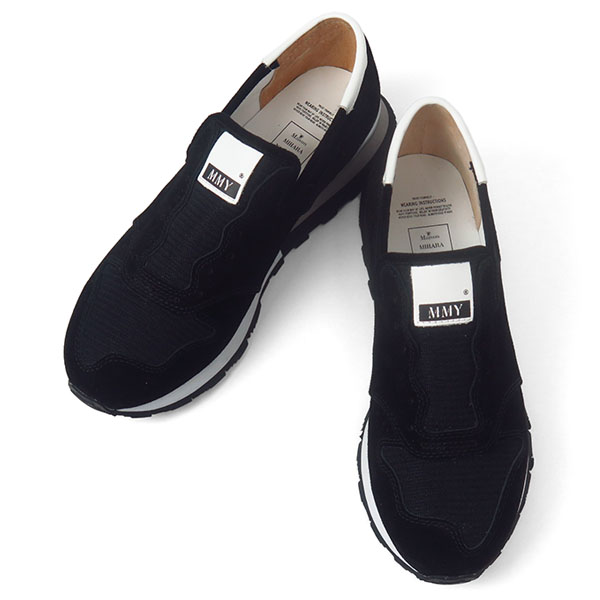 slip-on loafers driving shoes/BLACK