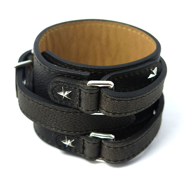 THE STAR WRISTBAND-GRAY BK-