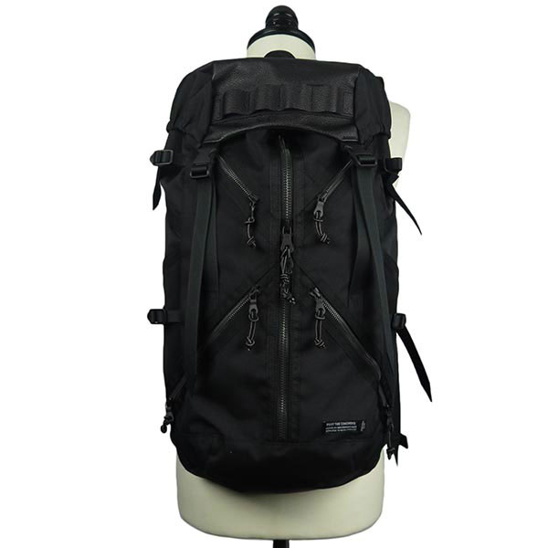 RESISTANCE BACK PACK (COLLABO WITH PORTER)-BLACK×BLACK-