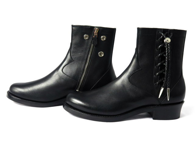SIDE LACE BOOTS