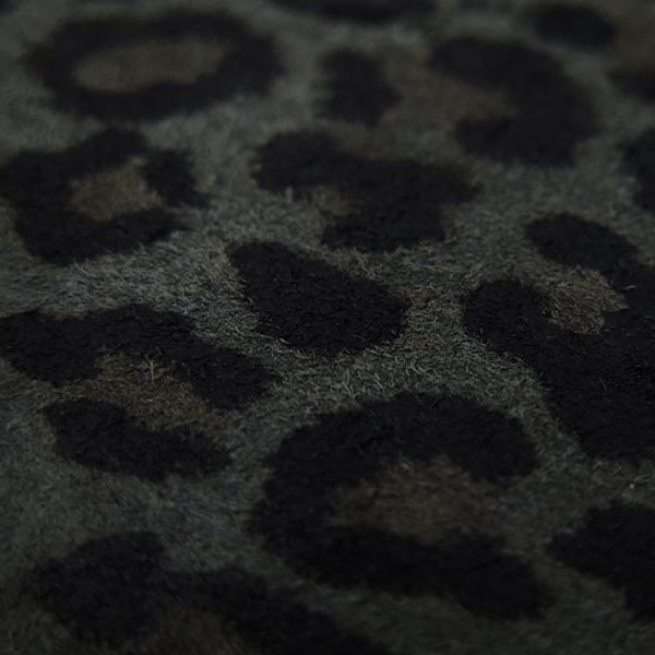 沖嶋 信 - SO (Shin Okishima) MODEL WALLET -LEOPARD.MONO-
