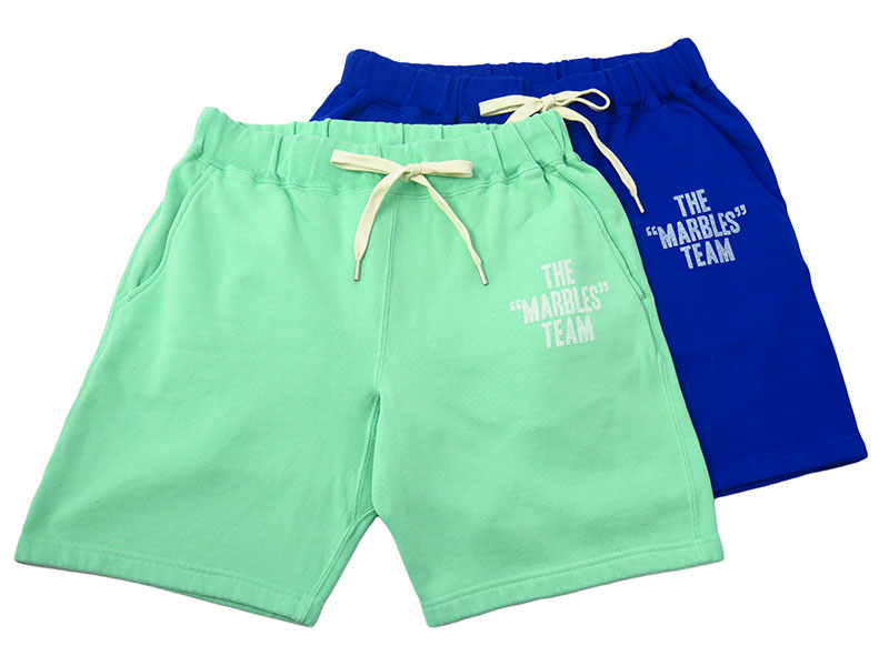THE MARBLES TEAM SWEAT SHORTS (MPT-S1707)
