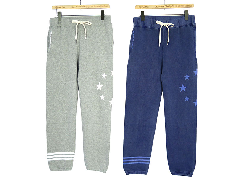 CIRCLE STARS BORDER SWEAT PANTS(MPT_S1710)