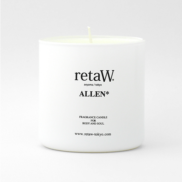 Fragrance Candle ALLEN* WHITE
