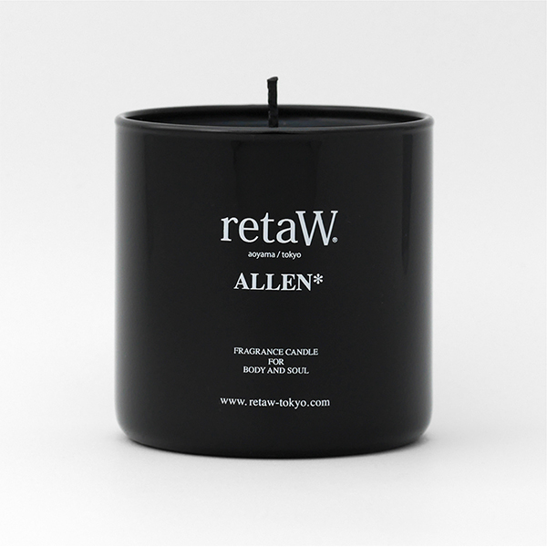 Fragrance Candle ALLEN* BLACK