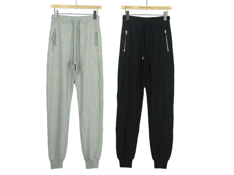 sweat pants w/ zip pockets