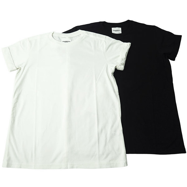 roll up crew neck tee