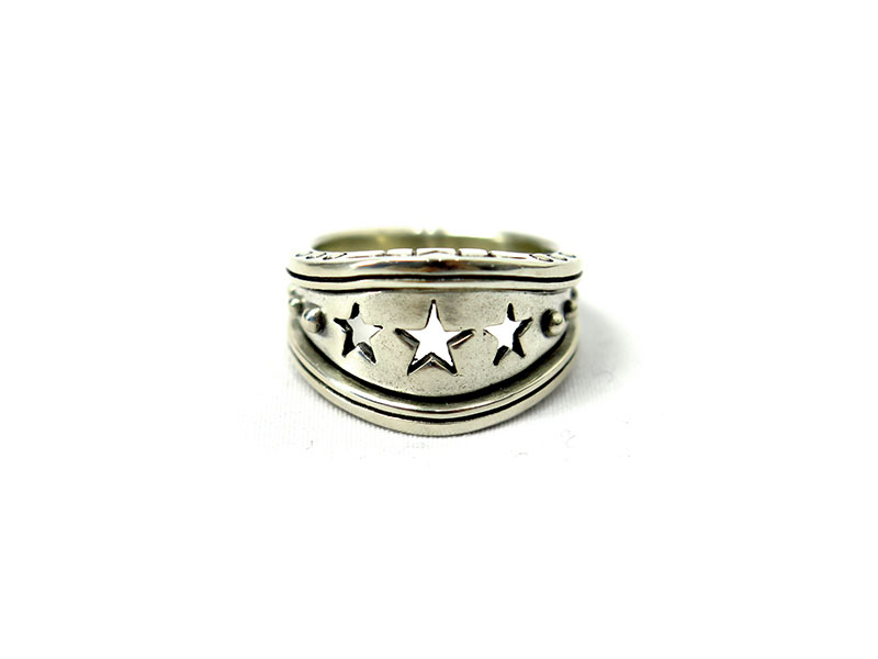 STAR SILVER RING(TAC-S1710)